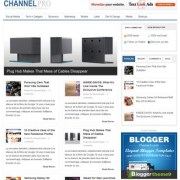 ChannelPro Blogger Templates