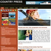 Country Press Blogger Templates