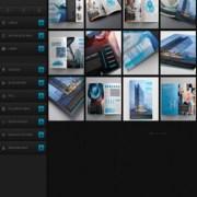 DCM V2 Blue Responsive Blogger Templates