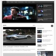 DeTube Video Blogger Templates