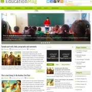 EducationMag Blogger Templates