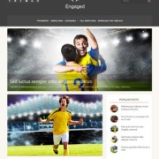 Engaged Responsive Blogger Templates