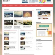 Fency Responsive Blogger Templates