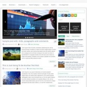 FinanceNet Blogger Templates