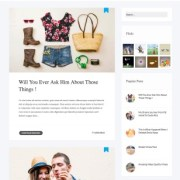 Flavio Simple Blogger Templates