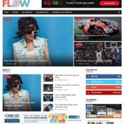 Flow SportsMag Blogger Templates