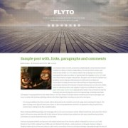 Flyto Blogger Templates
