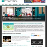 FrontOffice Blogger Templates