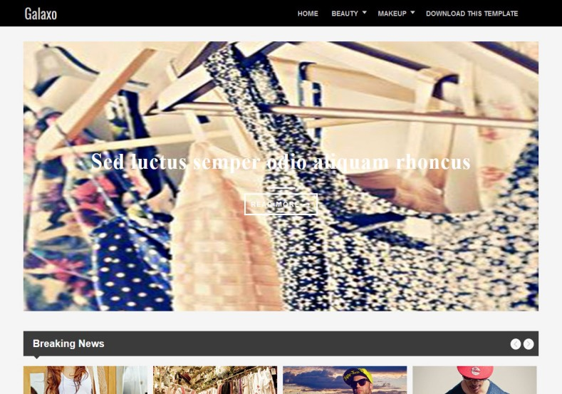 Responsive Galaxo Blogger Template 2015 free blogspot themes