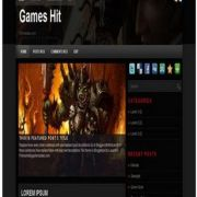 Games Hit Blogger Templates