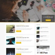Gossip Magazine Blogger Templates