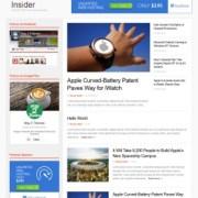Insider Responsive Blogger Templates