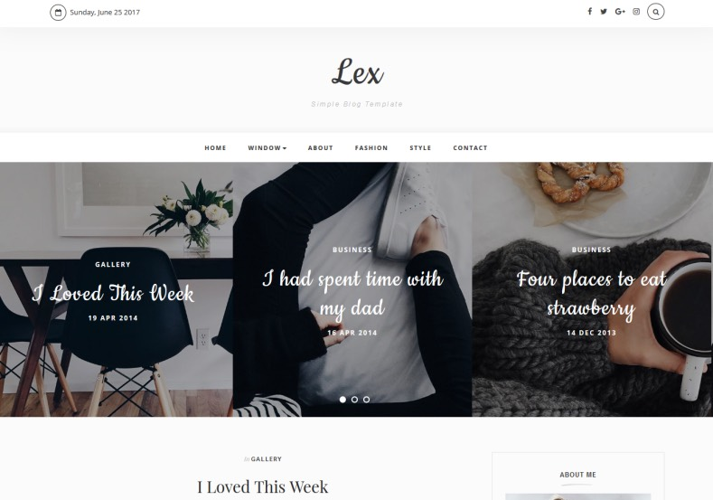 Lex Blogger Template. Best high quality blogger themes 2017 for blogger blogspot blogs. Design your blogger blog with Lex Blogger Template to get attractive from your blog audience.