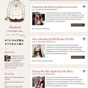 Lovebirds Blogger Templates