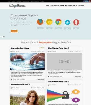 Mini T Blogger Templates