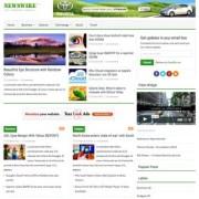 Newswire Responsive Blogger Templates