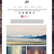 OM Responsive Blogger Templates