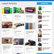 Pixel Blog Responsive Blogger Templates