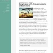 Rams Responsive Blogger Templates
