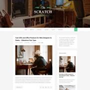 Scratch Green Responsive Blogger Templates
