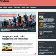 Solon Responsive Blogger Templates