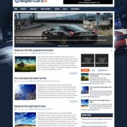 SuperCarsWp Blogger Templates