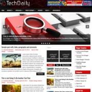 TechDaily Blogger Templates