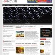 TechZilla Blogger Templates