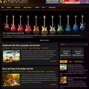 TheMusic Blogger Templates