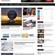 Top News Responsive Blogger Templates