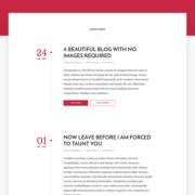 Typography Blogger Templates
