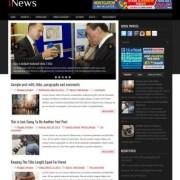 iNews Premium Blogger Templates