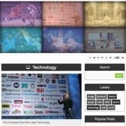 iTechno Responsive Blogger Templates