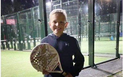 Go Padel's Ollie Grantham Wins First Padel Scholarship In The U.K. At Just 10 years Old