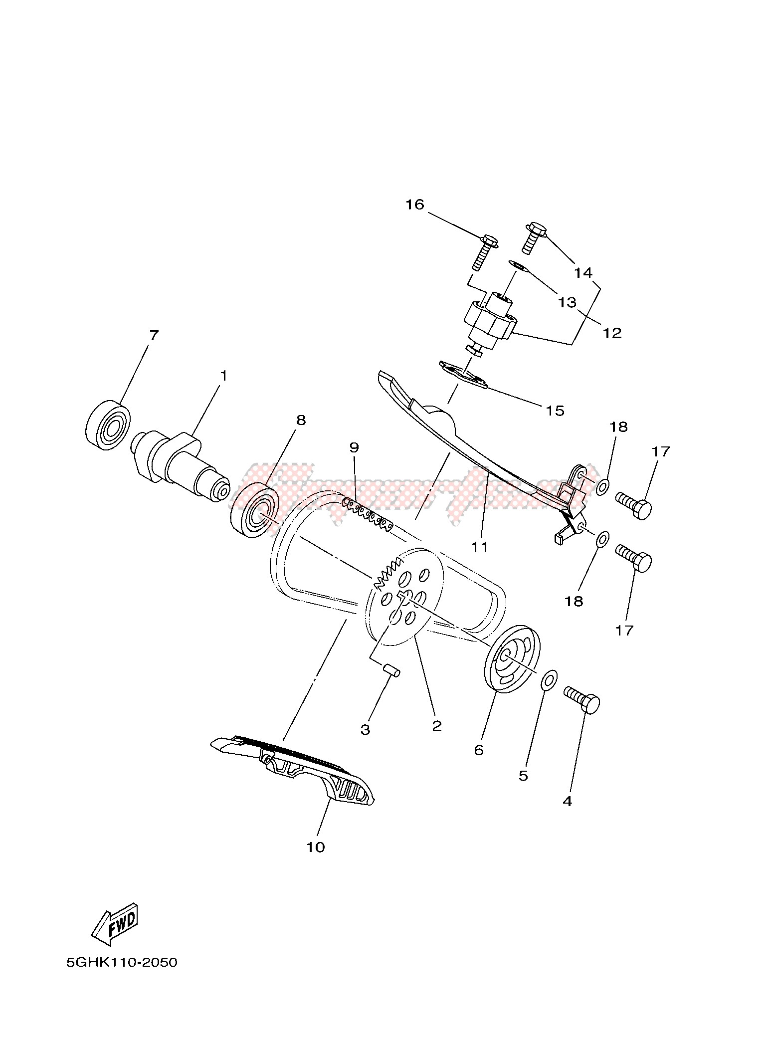 Yamaha 450 Engine Diagram