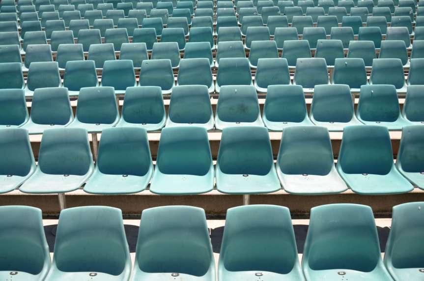 image empty seats