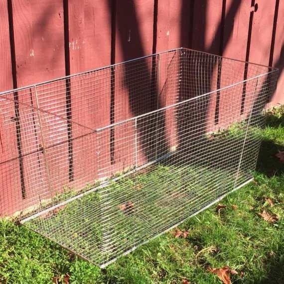 gopher basket garden bed