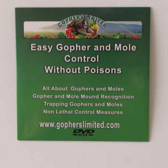 gopher mole control without poisons