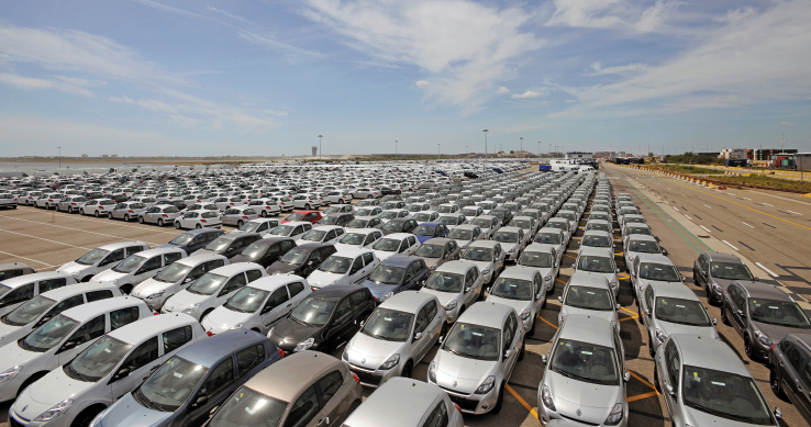 Volkswagen Yard Management buyback storage