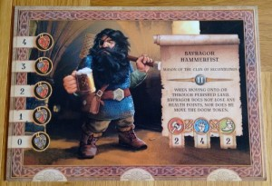 The Dwarves player board
