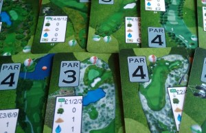 Front Nine hole cards