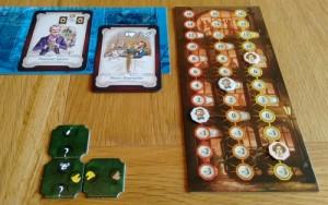 Prodigals Club player board