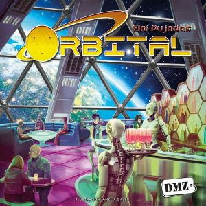 The box for Orbital - one of my favourite obscure board games