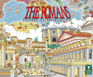 The box for The Romans, on my list of best obscure board games