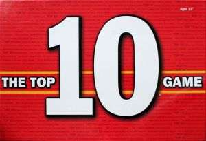 A 'top 10 games' image for my which board games to buy article