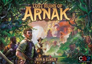 The box art for Essen 2020 release Lost Ruins of Arnak