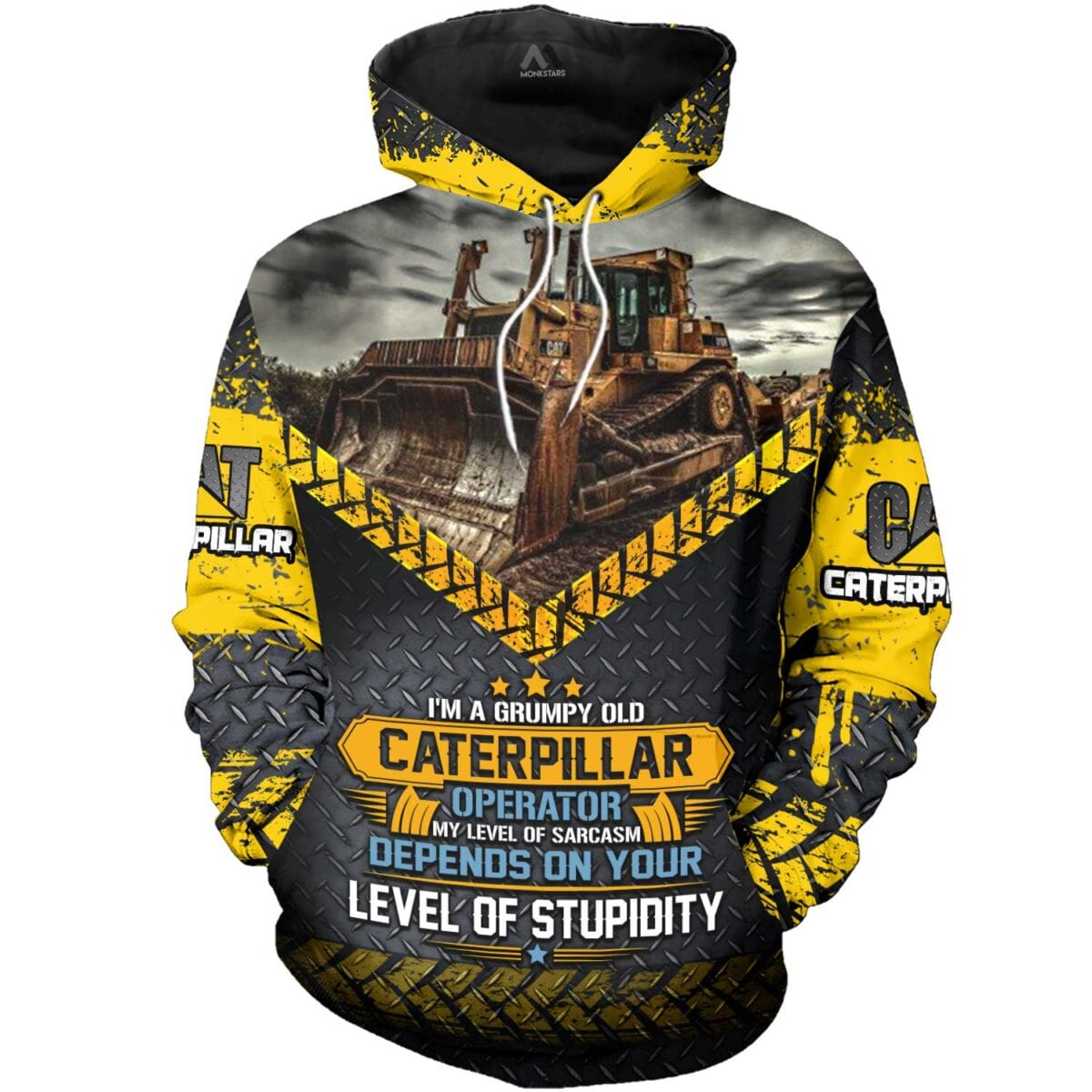 Heavy Equipment 3D All Over Printed Shirts for Men and Women 1