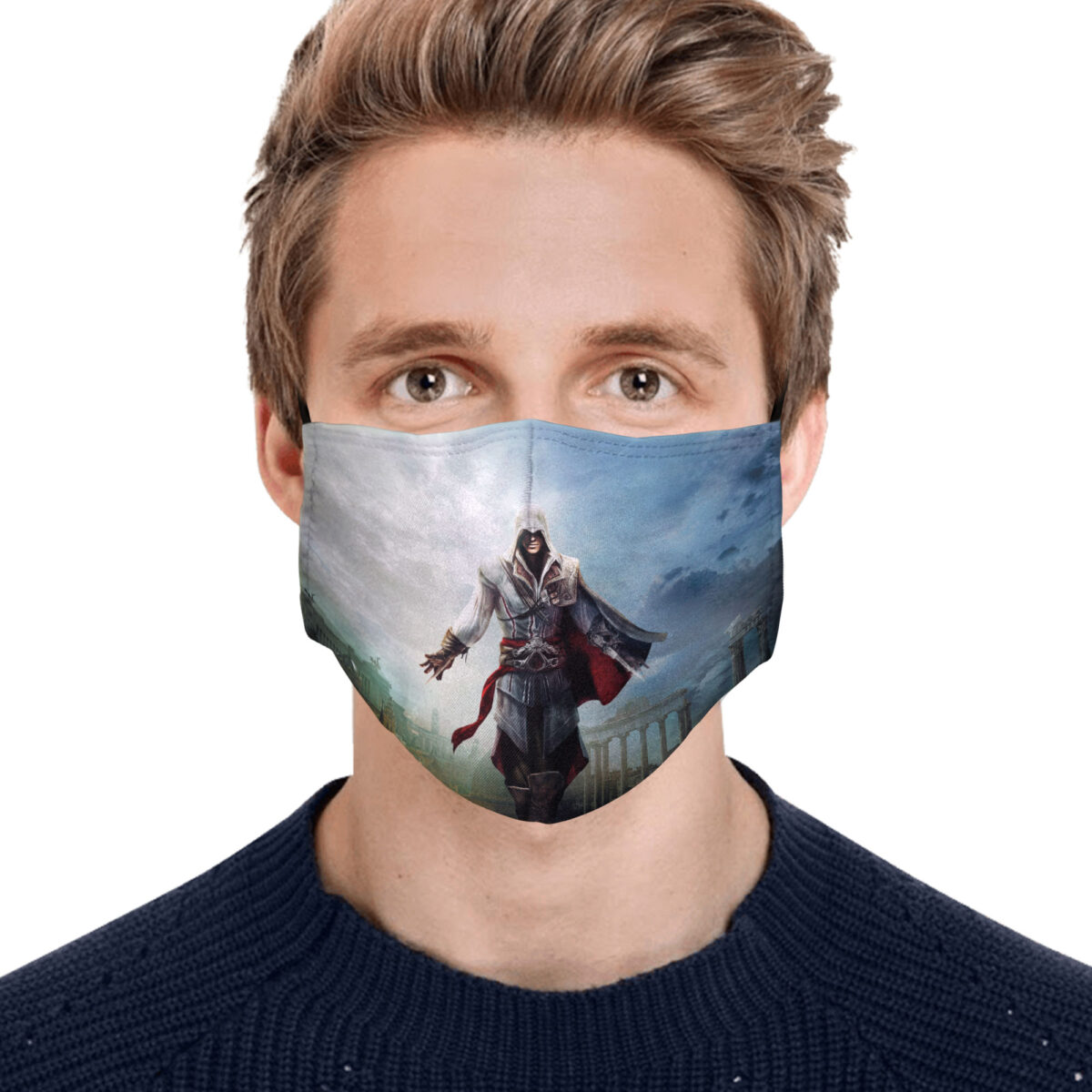 Assassin S Creed Face Mask Gopostore Online Clothing Store