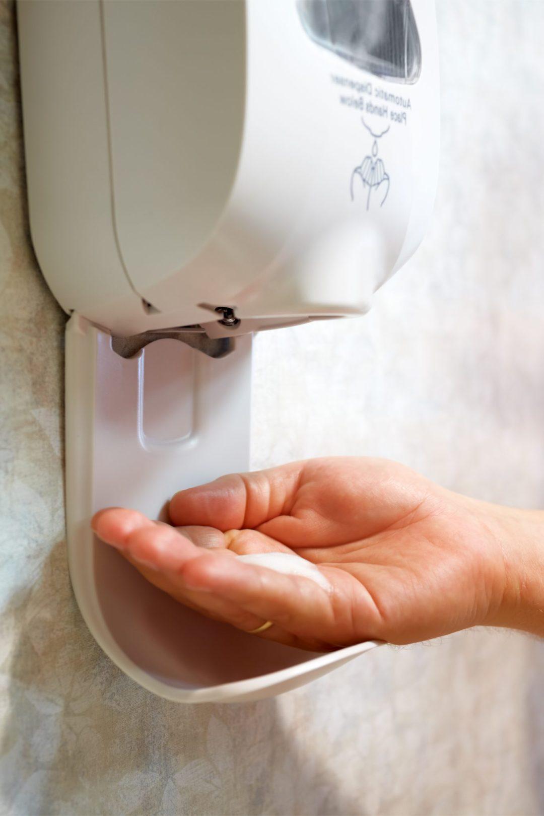 Hand sanitizer resistant