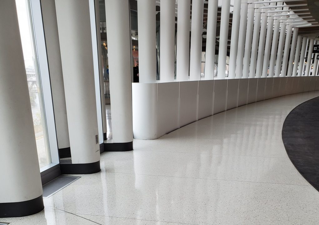 Better than traditional floor finishes